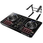 PIONEER DJスタートセット DDJ-RB + PCスタンド (DJコントローラー+スタンド)