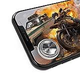 モバイルジョイスティック PUBG Mobile 荒野行動 第五人格 移動操作用パッド 吸盤式 真空吸着 手汗対策 超薄型 タッチスクリーン iPhone Xperia & Android タブレット 等対応