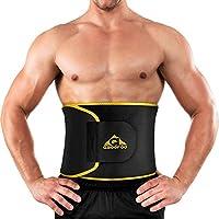 GROOFOO シェイプアップベルト 腰サポーター ダイエット 発汗促進 サウナベルト 腹 引き締めり 腰痛 腰椎固定 腰 保護 姿勢矯正 男女兼用 GF-044