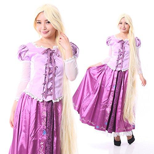 monoii ラプンツェル コスプレ 衣装 コスチューム ドレス 428