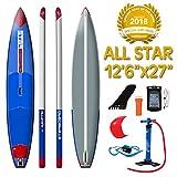 特典付き 2018 STARBOARD ALL STAR AIRLINE 12'6 X 27 X 6 スターボード オールスター エアーライン SUP インフレータブル パドルボード サップ