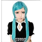 初音ミクボーカル恋愛裁判(れんあいさいばん) 耐熱高級コスプレウィッグかつら cosplay wig 超人気変装用ウィッグ+ウィッグ専用ネット