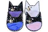 アクセサリー パーツ 猫 ヘアバンドアクセサリー 4色セット