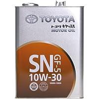 トヨタ キャッスルSN 10W30 4L 08880-10805 ガソリン用 純正オイル 0410156
