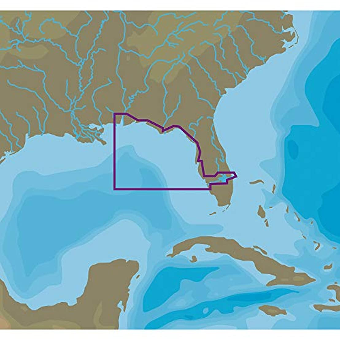 戦闘スロベニア口c-map NT + na-c410 Cカード形式Fort Myers toモバイル