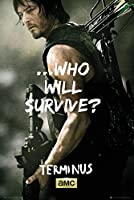 Walking Dead–Daryl Surviveポスター36x 24in 2011624-ROLL_1