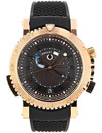 [ブレゲ] 腕時計 BREGUET 5847BR/Z2/5ZV マリーン ロイヤル グレー文字盤 RG/ブラックラバー 自動巻き [中古品] [並行輸入品]