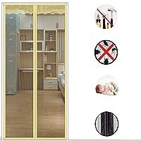 魔法のステッカー 磁気スクリーンドア,夏のフルフレーム 磁気のフライ スクリーン ドア 蚊を保持 -d 80x210cm(31x83inch)80x210cm(31x83inch)