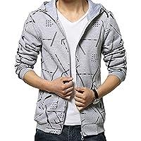 (Willing) パーカー メンズ ファッション ペアルック フード 付き ジップ アップ 長 袖 かっこいい アウター 上着 大きい サイズ も M ~ XXL 男 性 用