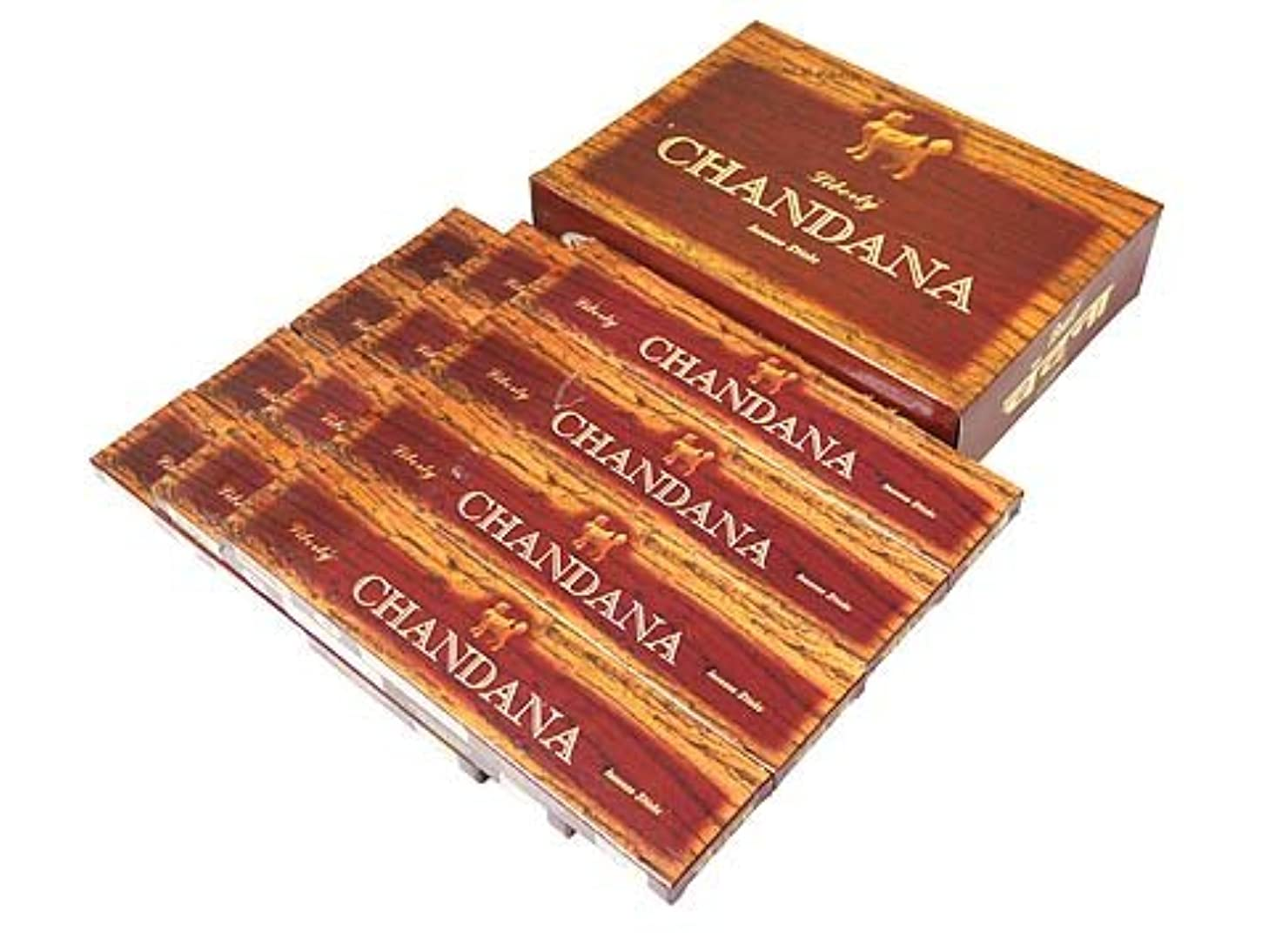 すずめアデレード韻LIBERTY'S(リバティーズ) チャンダナ香 スティック CHANDANA 12箱セット