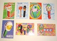 Set of Seven PEZ Postcards