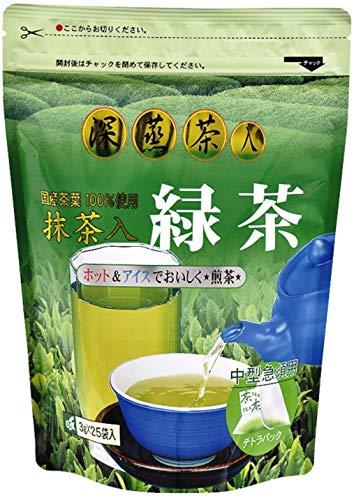 OSK 抹茶入 香味練火煎茶 25包×2