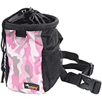 Dog Treat Training Pouch Bag Waist Pack with Adjustable Strap Easily Carries Pet Toys Treats