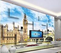 Sproud 新しい到着の写真壁紙カスタム 3 D 英国デザイン壁紙ステッカー壁画スタイル壁紙 350 Cmx 245 Cm の写真城建設