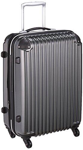 [シフレ] スーツケース ハードジッパーケース シフレ 1年保証 保証付 58L 57cm 3.7kg AMC201-57 カーボンブラック カーボンブラック