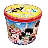ミッキー&フレンズ ビッグサイズ 大容量缶入りチョコレートクランチ お菓子【東京ディズニーリゾート限定】