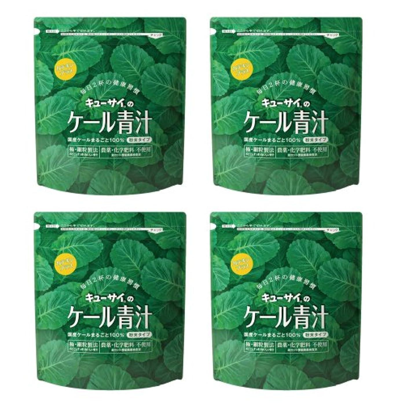 エージェントきつく平和的キューサイ青汁カテキンプラス420g(粉末タイプ)4袋まとめ買い【1袋420g(約1カ月分)】