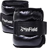(InField) アンクルウェイト リスト 筋トレ ウォーキング ダイエット エクササイズ 体幹トレーニング リストウェイト アンクルウェイト パワーアンクル リストバンド 2kg