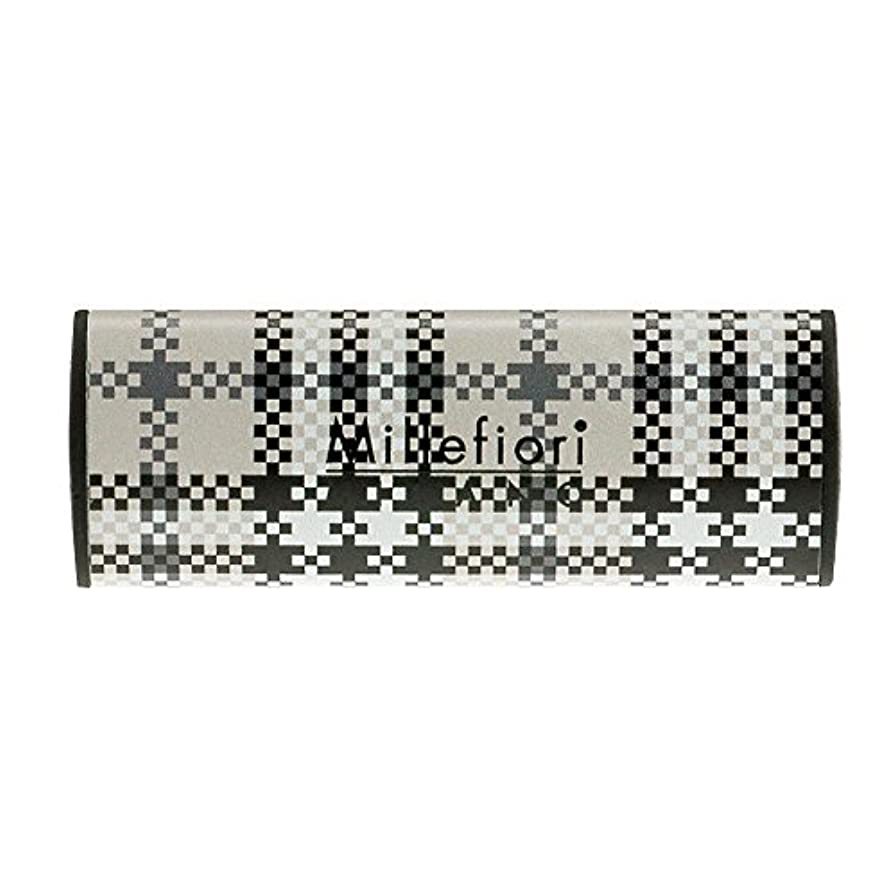 ためにむしろ電卓Millefiori カーエアフレッシュナー CHECK シルバースピリット CDIF-F-003
