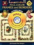 Full-Color Frames and Borders CD-ROM and Book (Dover Electronic Clip Art) 画像