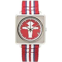 [アンペルマン]AMPELMANN 腕時計 ユニセックス オートマ スクエア レッド APR-4971-19