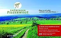 Thueringer Pilgerwege: 10 Routen. Massstab 1:100.000.