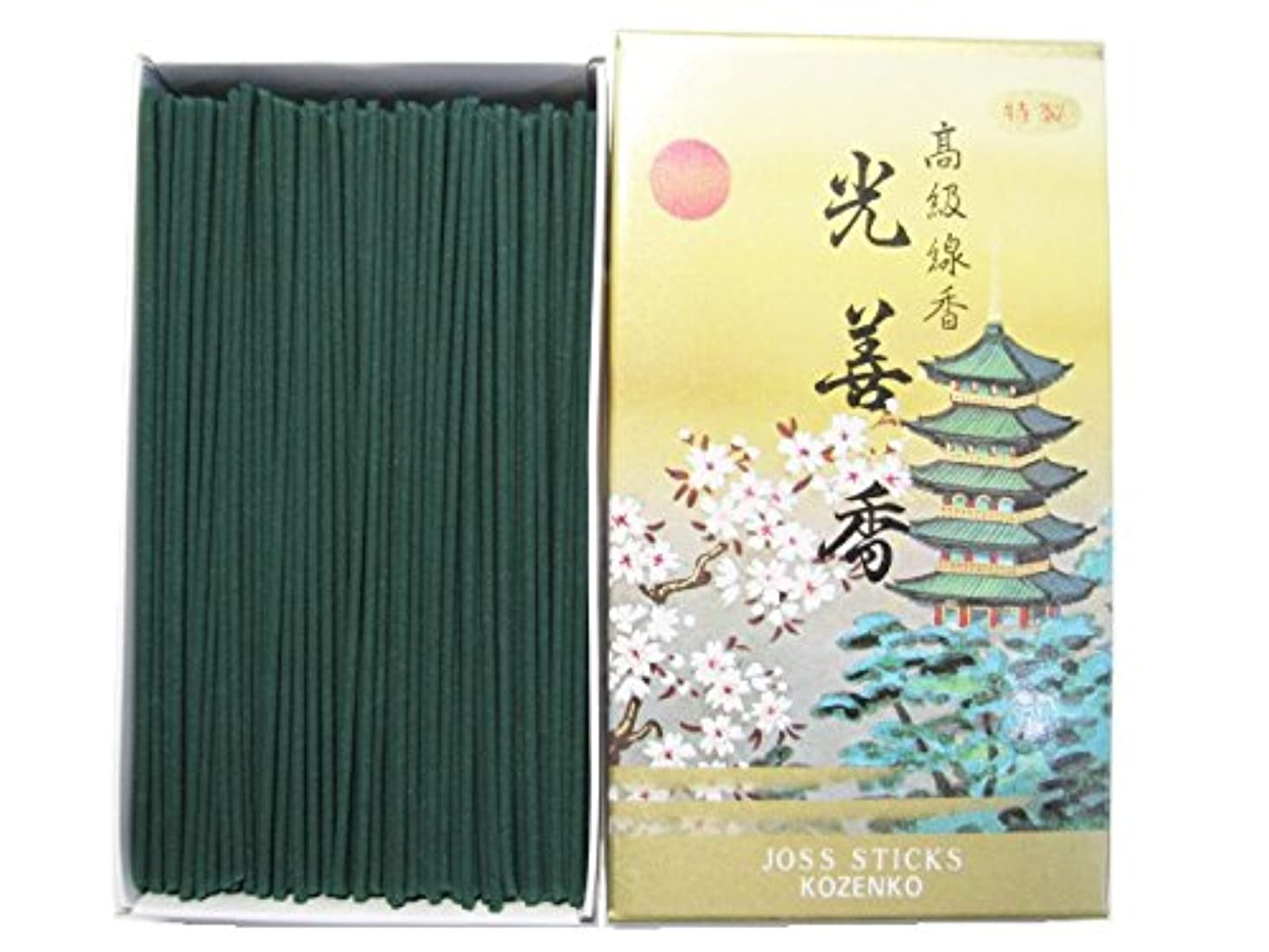 補う接続された白い淡路梅薫堂のお線香 光善香 徳用バラ入 #406 ×12