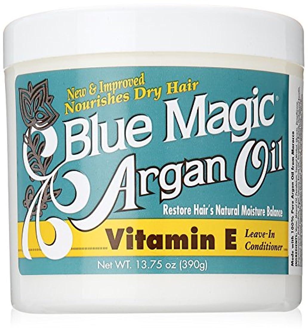 送金出費証書Blue Magic Argan Oil & Vitamin-E Leave-In 400 ml Jar (並行輸入品)