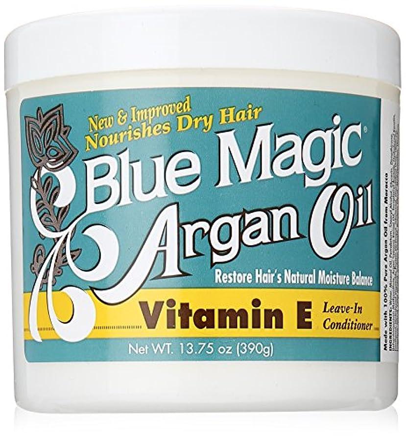 否定する資本主義入植者Blue Magic Argan Oil & Vitamin-E Leave-In 400 ml Jar (並行輸入品)