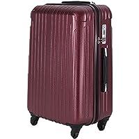 d8e5f1e890 ラッキーパンダ スーツケース ファスナータイプ TSAロック 超軽量 2年間修理保証 TY001 機内持込み (マット)ワインレッド Sサイズ