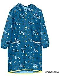 ワールドパーティー(Wpc.) キッズレインコート ポンチョ レインウェア ブルー M 子供 収納袋付き WKRM-DS077