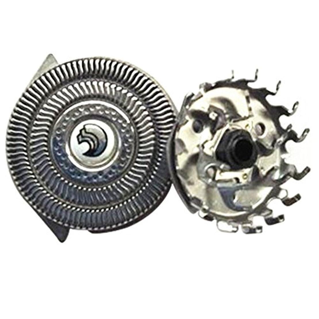 ブレンドバー粒子Deylaying 置換 シェーバー 頭 フォイル 刃+カッター for Philips S9911 S9731 S9711 S9511