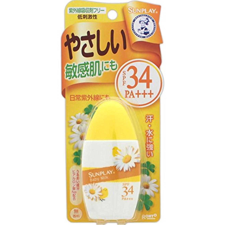 インディカこどもセンターグレートバリアリーフメンソレータム サンプレイ ベビーミルク 低刺激性 SPF34 PA+++ 30g