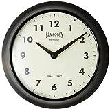 トスダイス 掛け時計 CLASSIC 2 HANDS WALL CLOCK ブラック TDNM3057BK