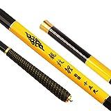 ENLI 渓流竿 釣竿  釣り竿  龙纹鯉碳素 ロッド  超軽い 超硬い (4.5m)
