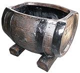 COMPALその他 木目調プランターシリーズ 樽型プランター 43型の画像