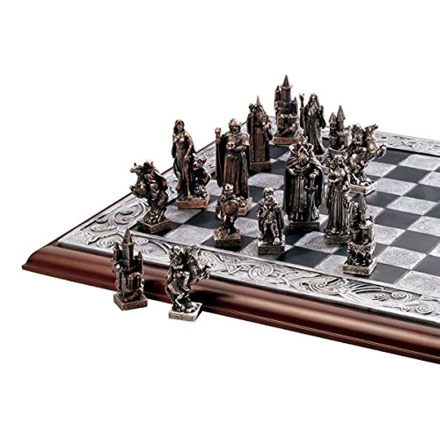 Design Toscano Mystical Legends Chess Set [並行輸入品]