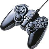 サンワサプライ USBゲームパッド JY-P60UBK
