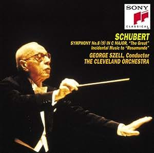シューベルト:交響曲第8(9)番「ザ・グレイト」&付随音楽「ロザムンデ」より
