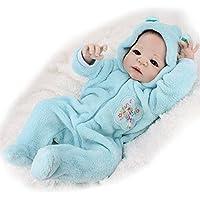 Reborn Baby Dolls Lifelike Boys Girls Toddlers Doll Full Body Soft Silicone Vinyl 55cm 22inch Newborn Kid Dolls