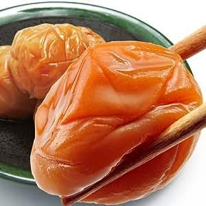 [訳あり] 紀州南高梅 つぶれ梅 (はちみつ漬け) 1.2K 梅干し 塩分8%