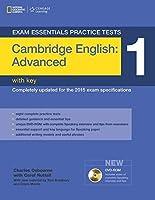 Exam Essentials: Cambridge Advanced Practice Tests 1 w/key + DVD-ROM by Tom Bradbury Eunice Yeates(2014-03-25)