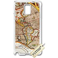 Samsung Note 4 ケース,Samsung N9100 ケースVUTTOO 世界一周 Samsung Note 4専用ケース(透明な) [並行輸入品]