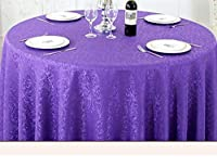 洗えるテーブルクロス 家庭用テーブルクロス、コーヒーテーブルテーブルクロス、テーブルクロスヨーロッパスタイルのコーヒーテーブルダイニングテーブルボックススクエアテーブルクロスホテルレストランラウンドベケットテーブルクロスCサイズカスタマイズオプション、 (Color : Round-200cm, サイズ : E)