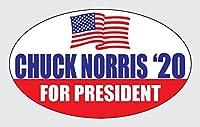 "Wyco Norris 2020」–製品–Elect Chuck Norris ' 20poli041717–3"" x5"" -s"