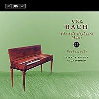 C.P.E. バッハ:鍵盤独奏曲全集 Vol.22 (6つのソナタによる18の例題) (C.P.E.Bach : Solo Keyboard Music Vol.22 / Miklos Spanyi)