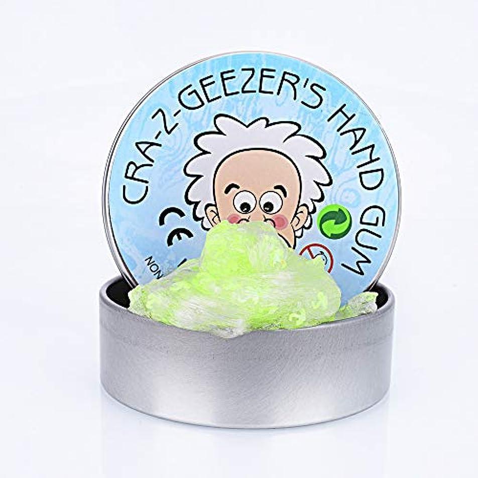 負漏れコンプライアンスHSFTILV CRA-Z-GEEZER'S Liquid Glass Putty Slime アイス パティ スライム