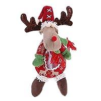 Demiwaking キャンディバッグ クリスマスおもちゃ クリスマス飾り サタンクロース 雪だるま トナカイ