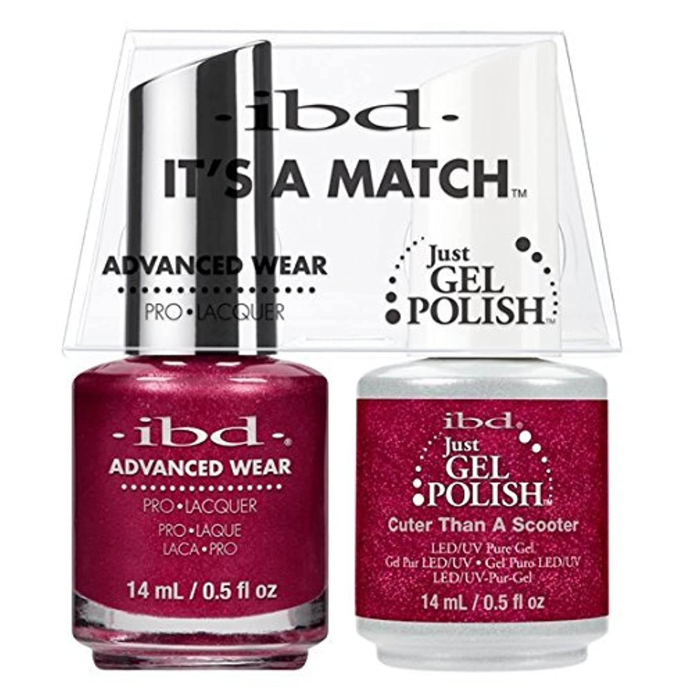 到着フェンスたぶんibd - It's A Match -Duo Pack- Cuter Than a Scooter - 14 mL / 0.5 oz Each