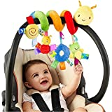 Heyuni. Animal Handbells Developmental Toy Bed Bells Rattle Soft Toys For Baby Music toys